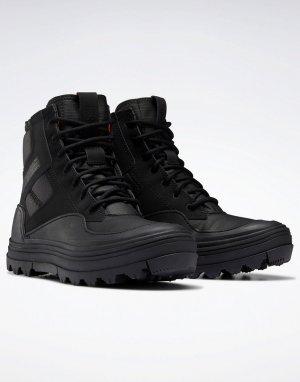 Черные ботинки-кроссовки Club C Cleated-Черный цвет Reebok