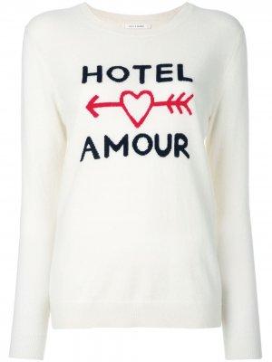 Джемпер Hotel Amour Chinti and Parker. Цвет: нейтральные цвета