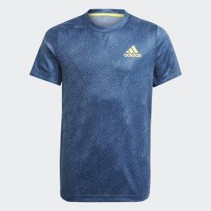 Футболка для тенниса HEAT.RDY Primeblue Performance adidas. Цвет: желтый