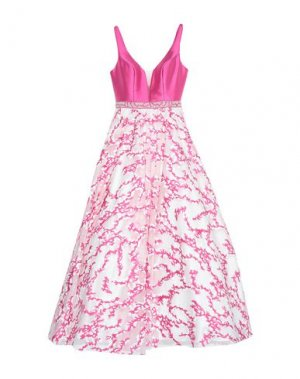 Длинное платье BELLA RHAPSODY by VENUS BRIDAL. Цвет: фуксия