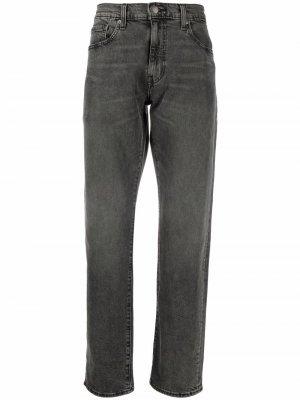 Levis зауженные джинсы 502 Levi's. Цвет: черный