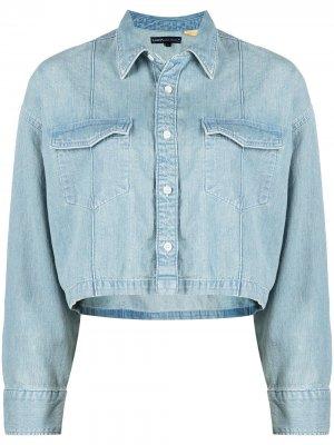 Levis: Made & Crafted укороченная джинсовая куртка Levi's:. Цвет: синий