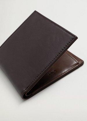 Бумажник из искусственной кожи - Classic Mango. Цвет: коричневый