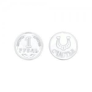 Монетка на счаcтье SOKOLOV
