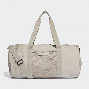 Спортивная сумка Round by Stella McCartney adidas. Цвет: белый