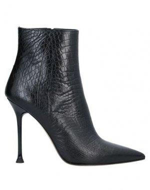 Полусапоги и высокие ботинки ELLA. Цвет: черный