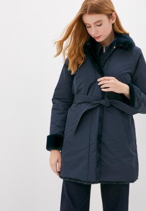 Куртка утепленная Geox Riversible. Цвет: синий