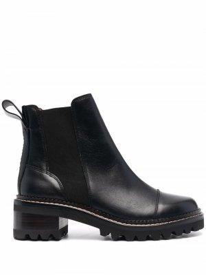Ботинки челси See by Chloé. Цвет: черный