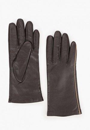 Перчатки Eleganzza 6,5. Цвет: коричневый