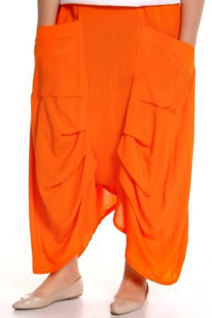 Брюки EVA Collection. Цвет: оранжевый
