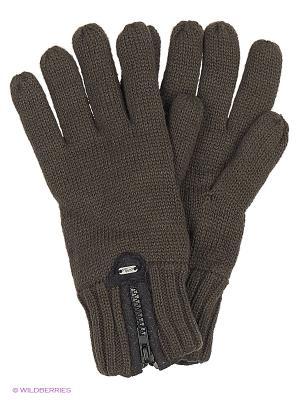 Перчатки Colin's. Цвет: коричневый