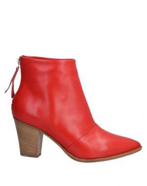 Полусапоги и высокие ботинки ALBERTO FERMANI. Цвет: красный