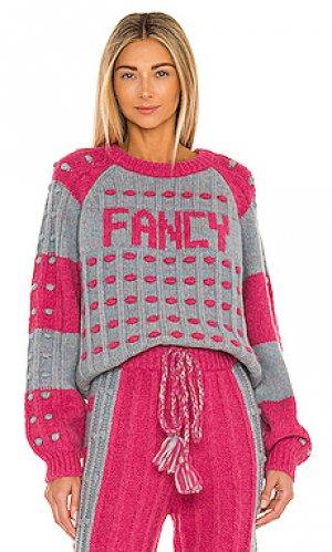 Пуловер ellyn LoveShackFancy. Цвет: розовый