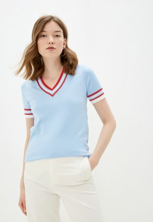 Пуловер Conso Wear. Цвет: голубой