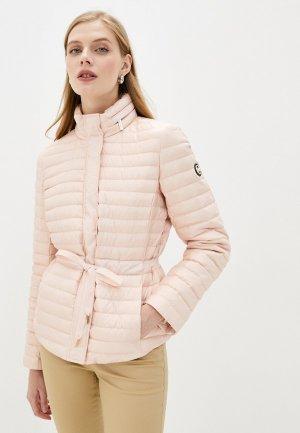 Куртка утепленная Michael Kors. Цвет: розовый