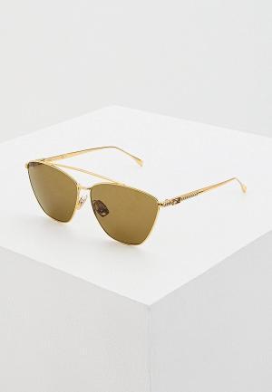Очки солнцезащитные Fendi FF 0438/S 001. Цвет: золотой