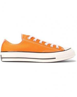 Низкие кеды и кроссовки CONVERSE. Цвет: оранжевый
