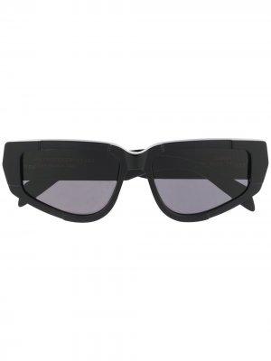 Солнцезащитные очки Cathari I в оправе кошачий глаз Retrosuperfuture. Цвет: черный