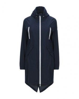 Легкое пальто PEOPLE OF SHIBUYA. Цвет: темно-синий