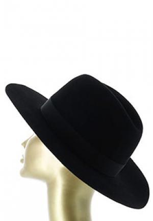 Шляпа FEDERICA MORETTI. Цвет: черный