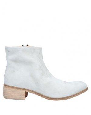 Полусапоги и высокие ботинки JP/DAVID. Цвет: светло-серый