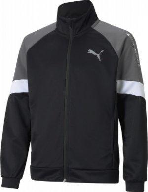 Олимпийка для мальчиков Active Sports, размер 140-146 Puma. Цвет: черный