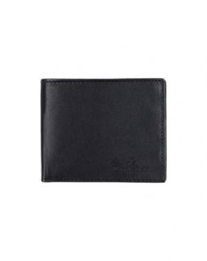 Бумажник BROOKSFIELD. Цвет: черный