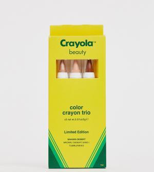 Набор из трех карандашей для макияжа Sahara Desert Crayola
