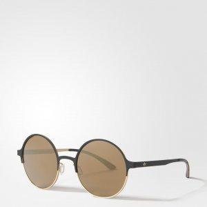 Солнцезащитные очки AOM004 Originals adidas. Цвет: черный
