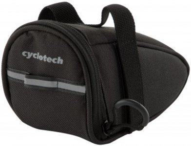 Сумка на велосипед Cyclotech. Цвет: черный