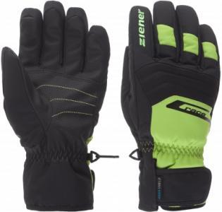 Перчатки мужские Gregg, размер 10,5 Ziener. Цвет: черный