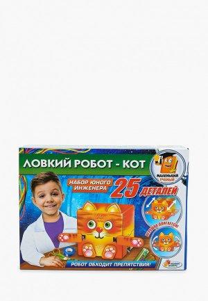 Набор для опытов Играем Вместе Ловкий робот-кот. Цвет: разноцветный