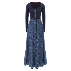 Платье-макси Altuzarra. Цвет: синий