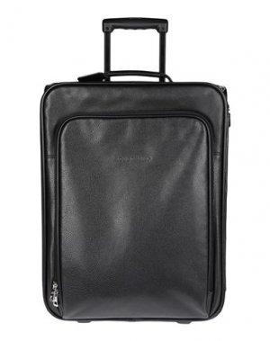 Чемодан/сумка на колесиках LONGCHAMP. Цвет: черный