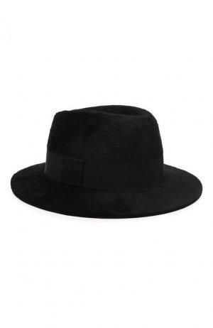 Фетровая шляпа Saint Laurent. Цвет: черный