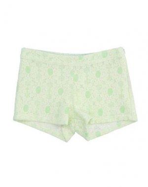 Повседневные шорты EVITA. Цвет: светло-зеленый