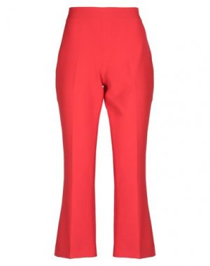 Повседневные брюки BLACK LABEL. Цвет: красный