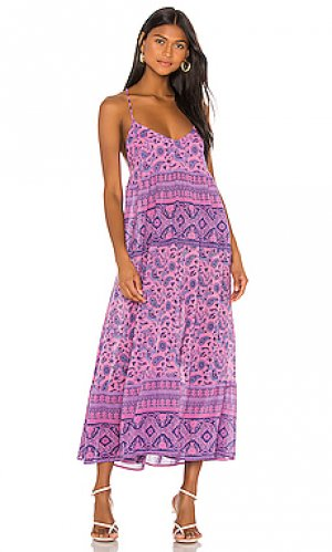 Макси платье journey Spell & The Gypsy Collective. Цвет: фиолетовый