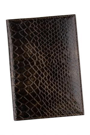 Обложка для паспорта Alliance. Цвет: коричневый