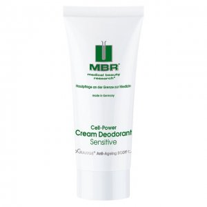 Дезодорант-крем Cell-Power Cream Deodorant Sensitive Medical Beauty Research. Цвет: бесцветный