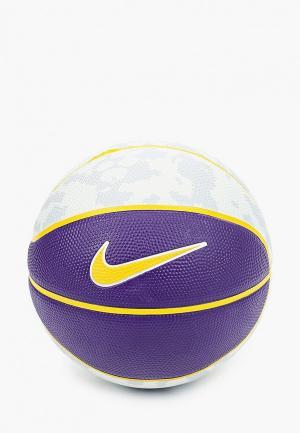 Мяч баскетбольный Nike LEBRON SKILLS. Цвет: разноцветный