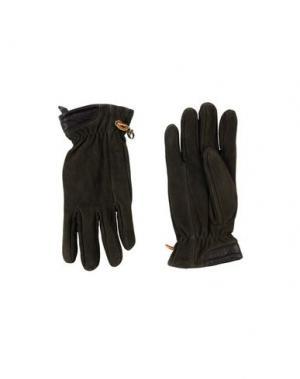 Перчатки TIMBERLAND. Цвет: темно-зеленый