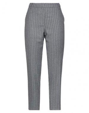 Повседневные брюки HENRY COTTON'S. Цвет: свинцово-серый