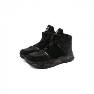 Комбинированные ботинки Maseboot Premiata. Цвет: чёрный