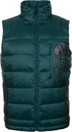 Жилет пуховый мужской Peakfrontier II Vest, размер 44-46 The North Face. Цвет: зеленый