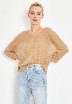 Пуловер Lime. Цвет: хаки