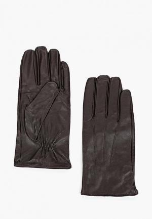 Перчатки Mango Man P NOAH. Цвет: коричневый
