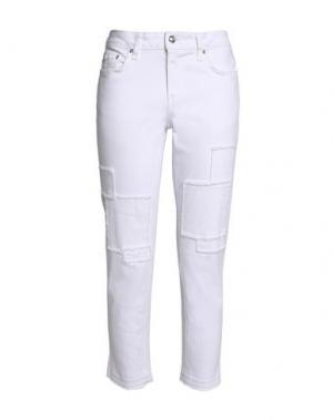Джинсовые брюки DEREK LAM 10 CROSBY. Цвет: белый