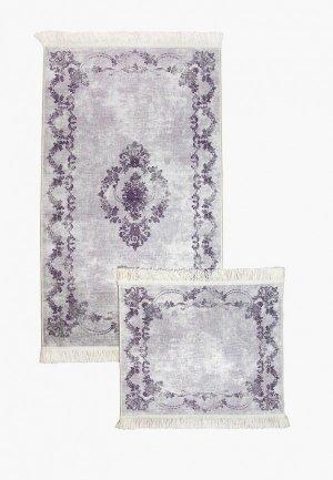 Комплект ковриков Arloni. Цвет: фиолетовый