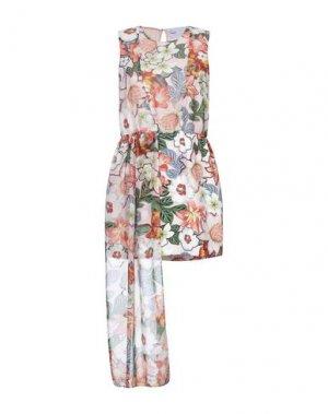 Короткое платье ALEXANDR ROGOV. Цвет: розовый